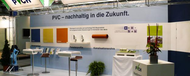PVCH Stand an der Swissbau in Basel - 2010
